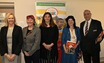 Photo showing people at launch of toolkit